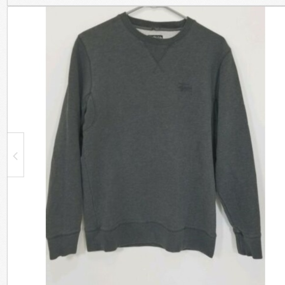 Stussy Other - Stussy Authentic Mens Gray Crewneck Sweater size M